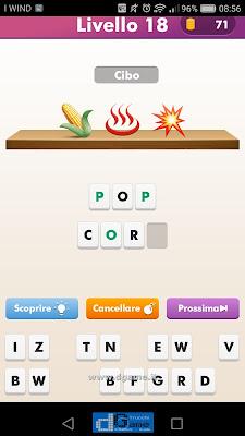 Emoji Quiz soluzione livello 18