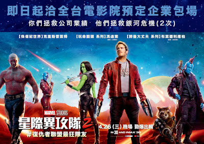 Marvel's Guardians of the Galaxy Vol. 2 International Movie Banner