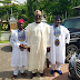 Dino Melaye shares photo with his sons rocking Agbada
