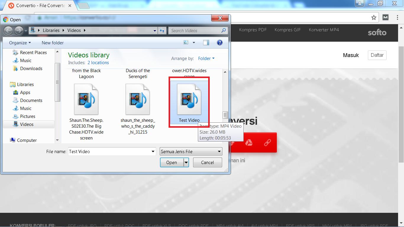 Cara Mengubah Video MP4 Menjadi MP3 Tanpa Software - Nak Blogz - photo#45