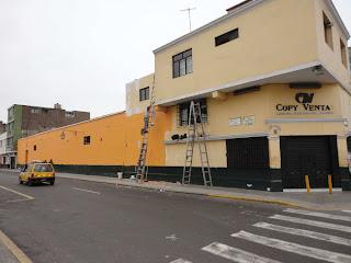Movida social trujillana julio 2011 - Pintado de fachadas ...