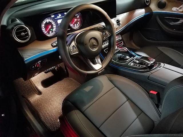 Thảm lót sàn ô tô Mercedes E Class 2017