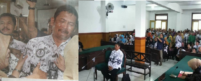 Setelah Bu Nurmayani, Guru SMP di Sidoarjo ini, dipolisikan karena cubit siswanya