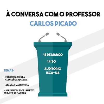 À conversa com o professor Carlos Picado