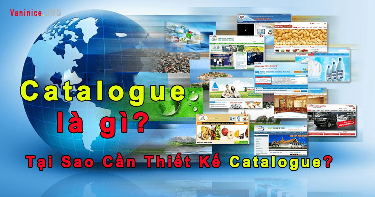 Catalogue là gì? - Tại Sao Cần Thiết Kế Catalogue?