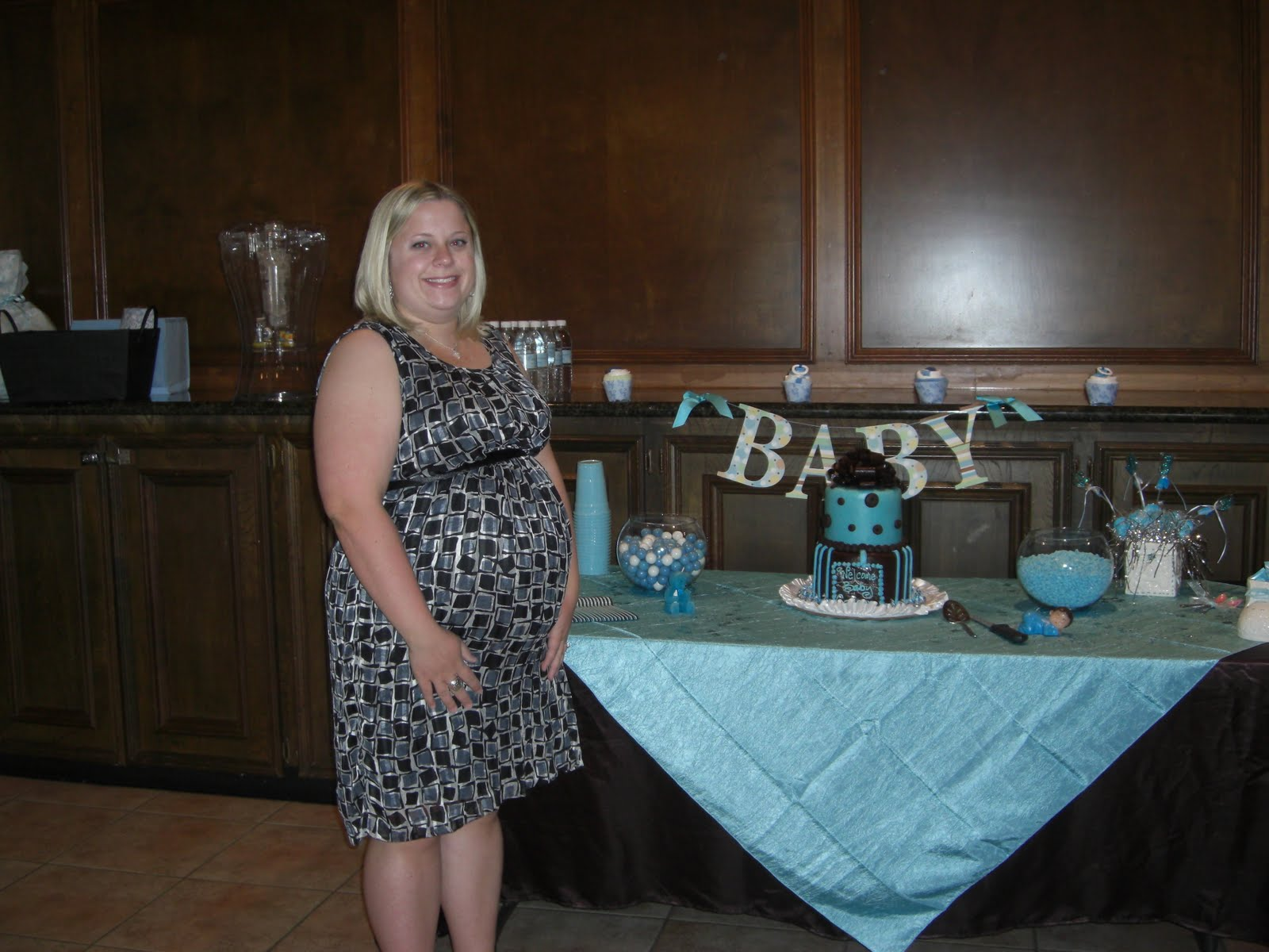 Blue And Brown Baby Shower Decorations Best Baby Decoration