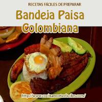 aceite, aguacate, almuerzo o cena, arepas, carne, fréjoles, huevo, plátano, receta, sal, tocino, Recetas colombianas