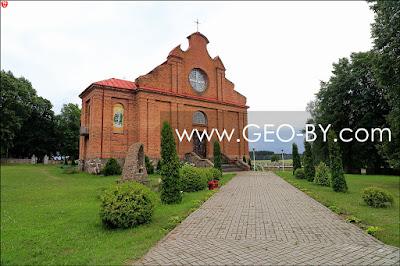Naliboki. Kościół Wniebowzięcia Najświętszej Maryi Panny