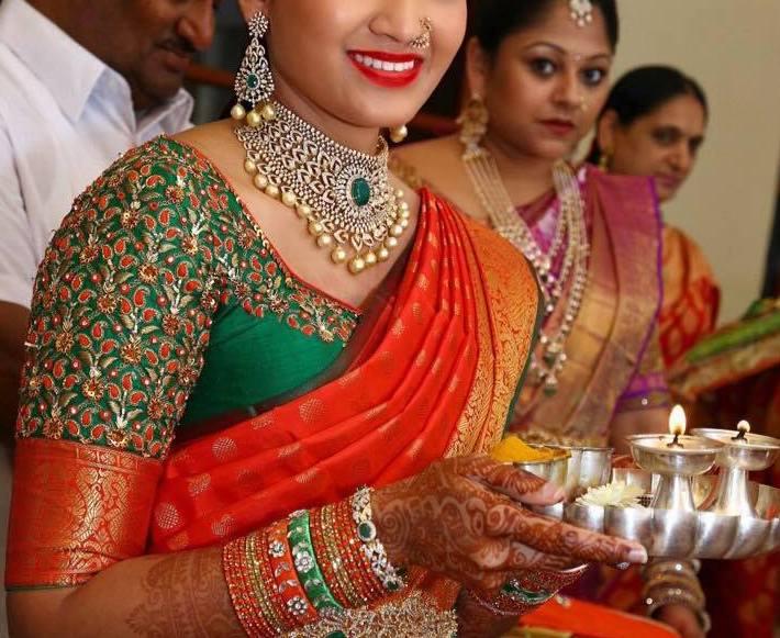 Fabulous Lady In Huge Choker Jewellery Designs