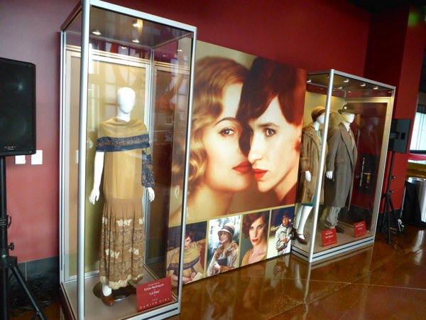 The Danish Girl movie costume exhibit