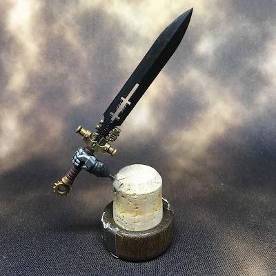 WIP Grand Master in Nemesis Dreadknight Sword w/hilt complete