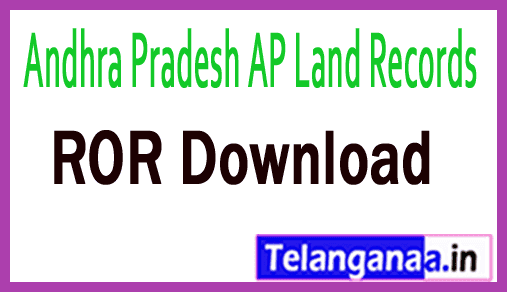 Andhra Pradesh AP Land Records 1B Download at meebhoomi