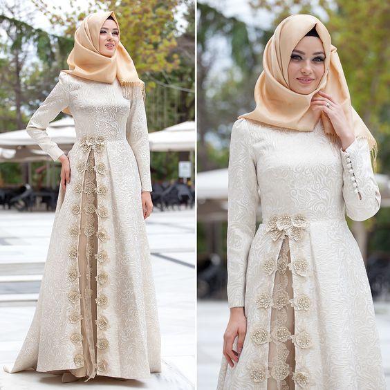 10 Contoh Model Baju Muslim Untuk Pesta Terbaru 2017