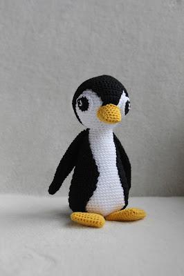 Thuis Is Waar We Haken Patroon Testen Pilou De Pinguin