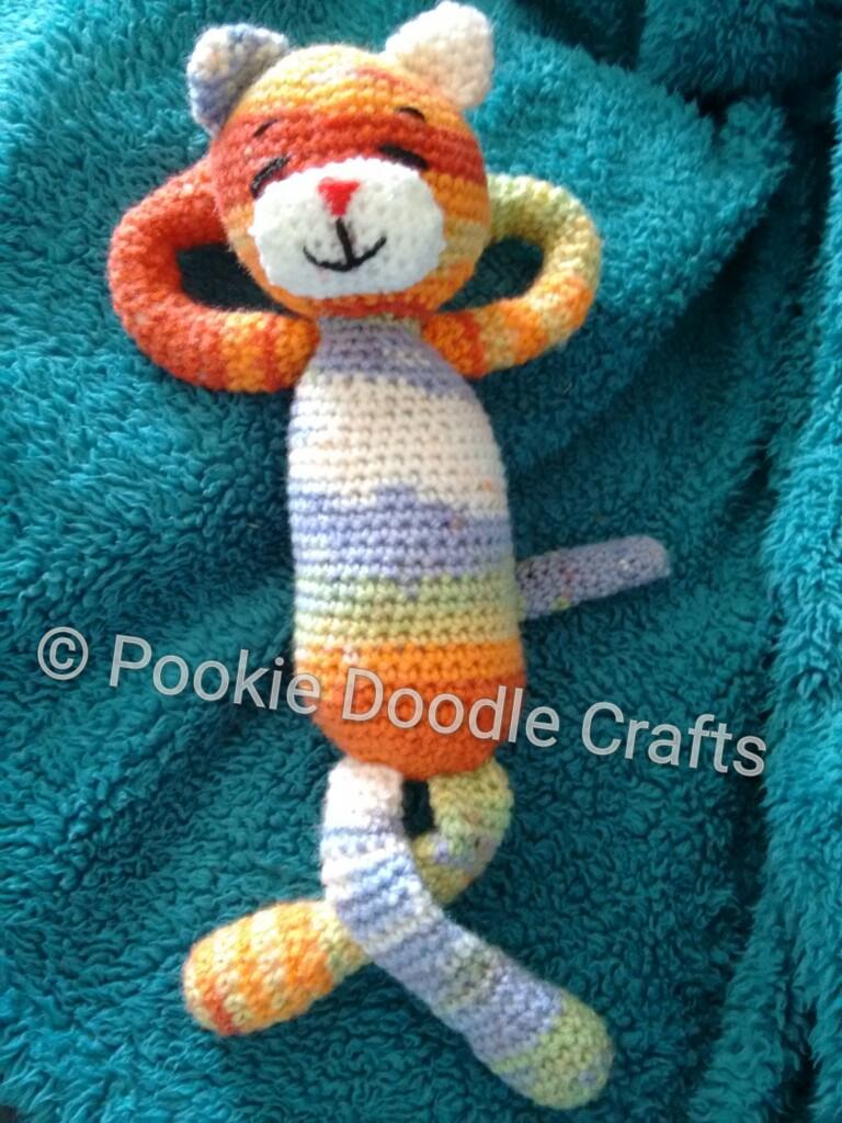 Laid-Back Cat Amigurumi pattern by Pam Grennes | Bonecas de crochê ... | 1024x768