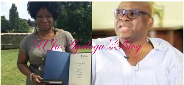 Fayose says all public officers must ensure their children school in Nigeria, but checks show he is also guilty