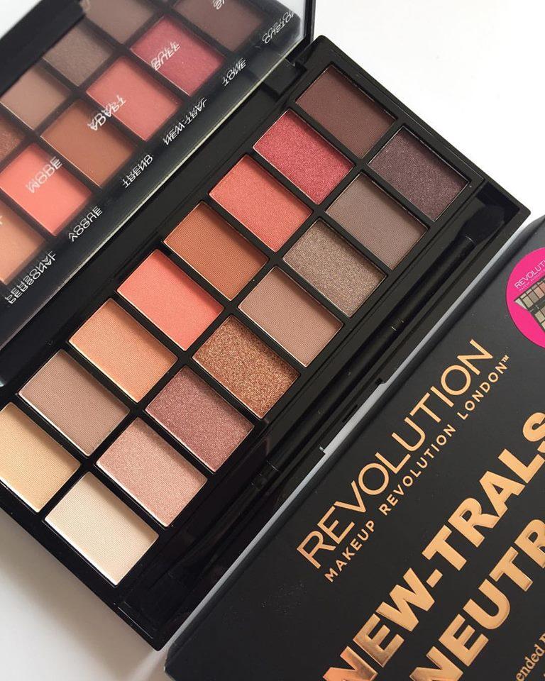 Neutrals 3 makeup revolution