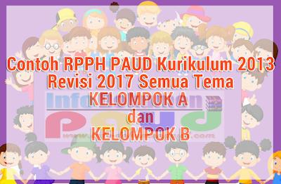 Download Contoh RPPH PAUD/TK Kurikulum 2013 Persubtema