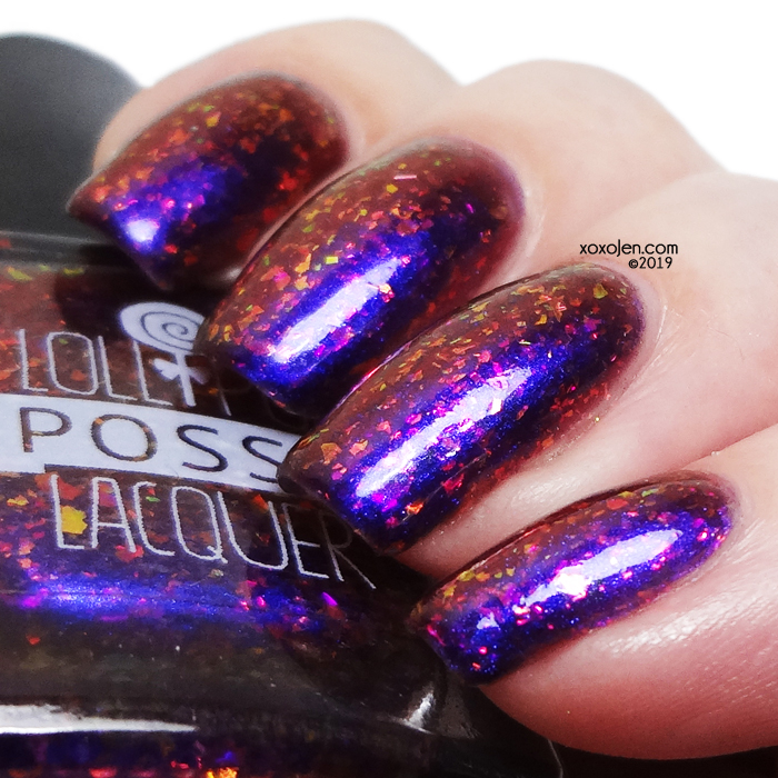 xoxoJen's swatch of Lollipop Posse Scorpio Season