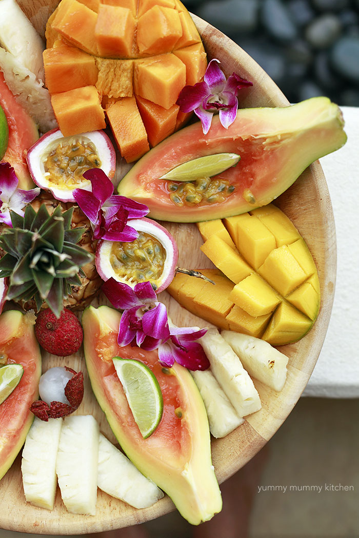 beautiful healthy fruit