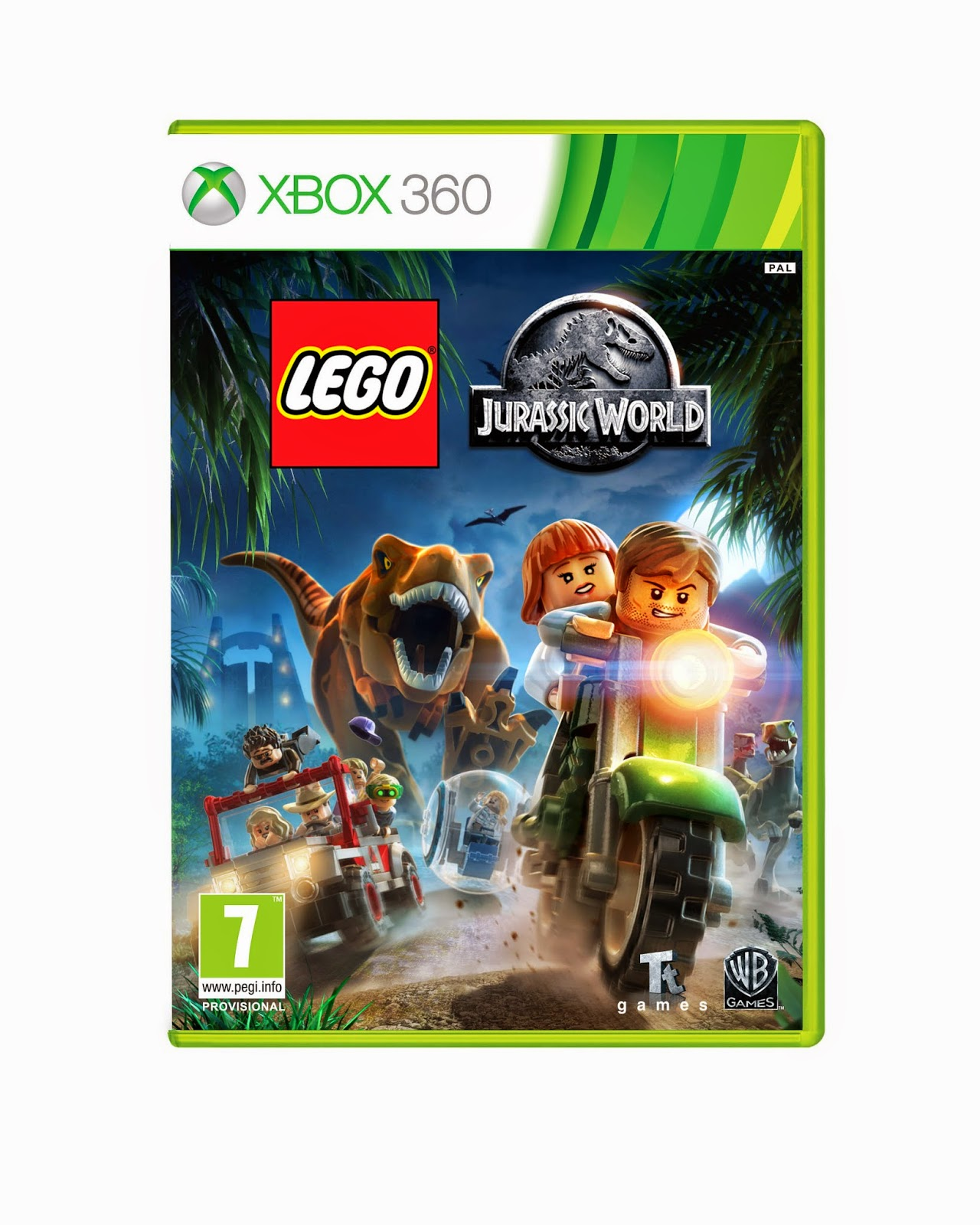 jurassic world game xbox one