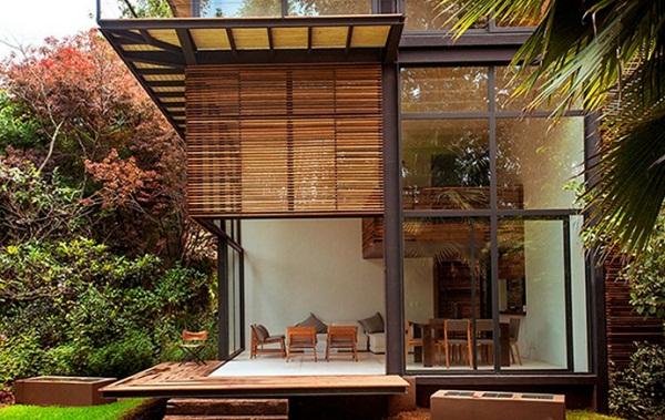 Foto Rumah Minimalis Modern Kayu Terbaru Foto Rumah Minimalis Modern Kayu Terbaru