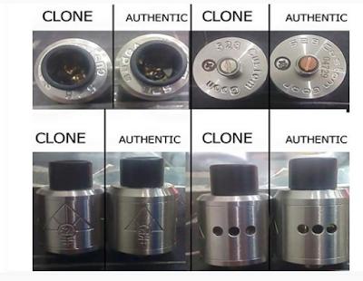 Cara Membedakan RDA Goon Clone Dan Authentic Oten