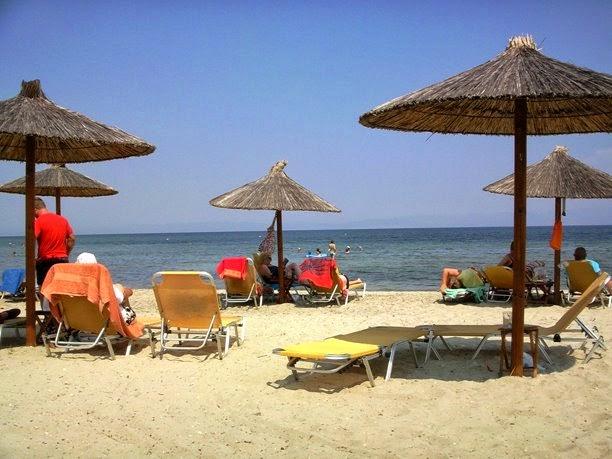 Skala Rachoni beach