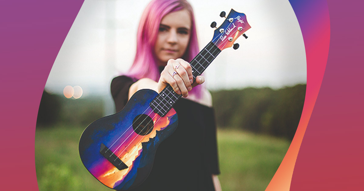 Interview with YouTube ukulele sensation Elise Ecklund
