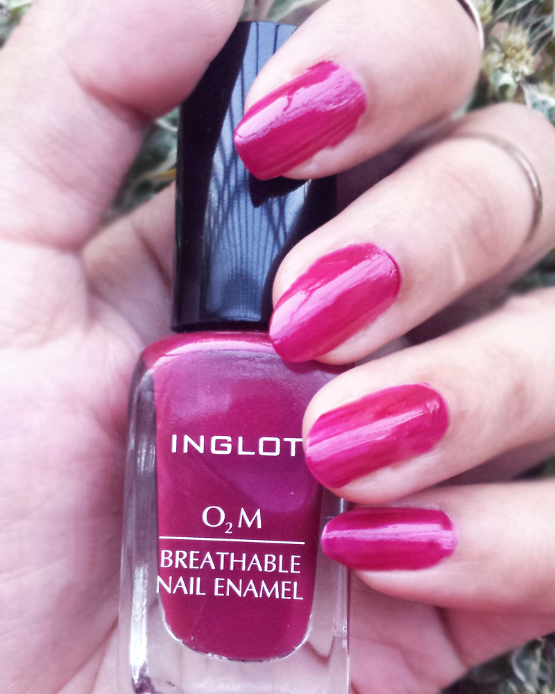 That Grl in High Heels: Inglot Breathable Nail Polish Review