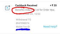 Benefito-app-loot-proof-trickspur