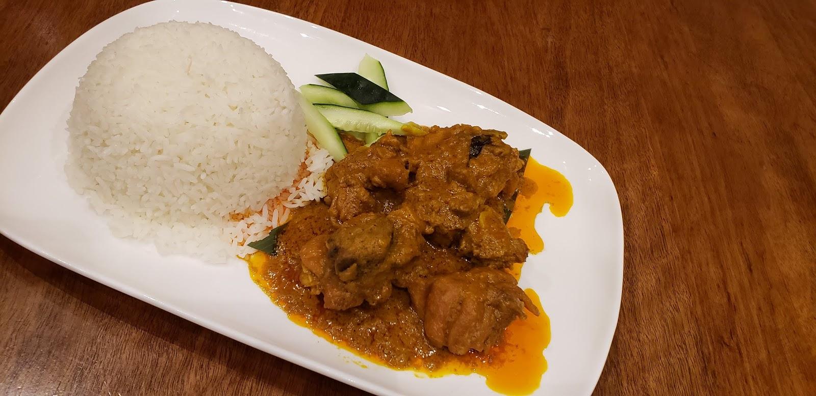 Rendang Chicken Rice