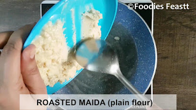 Maida Burfi Recipe