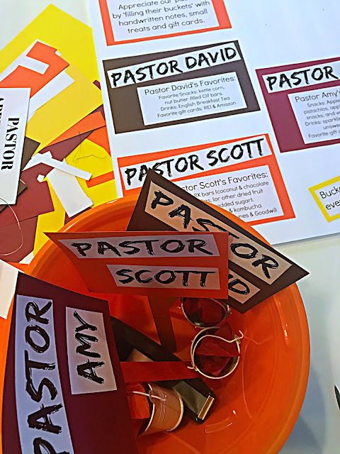 Pastor Appreciation Ideas