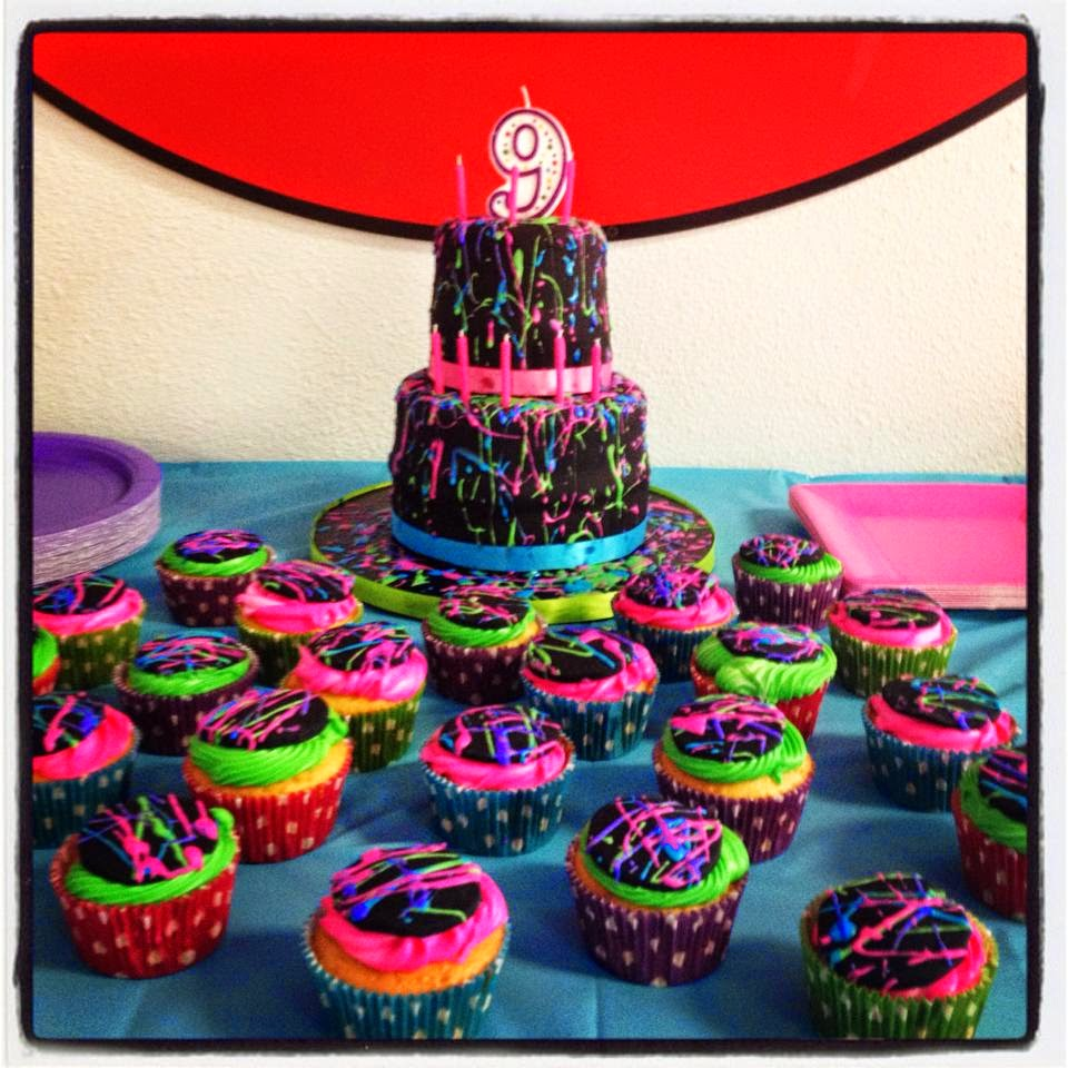 Cool My Creative Way Paint Splatter Cake Diy Tips Personalised Birthday Cards Sponlily Jamesorg