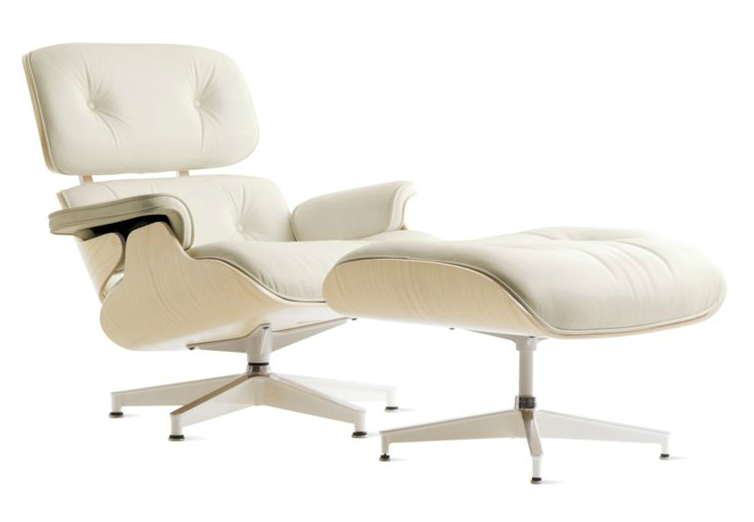beautiful abodes dwr eames lounge ottoman gets a boost. Black Bedroom Furniture Sets. Home Design Ideas