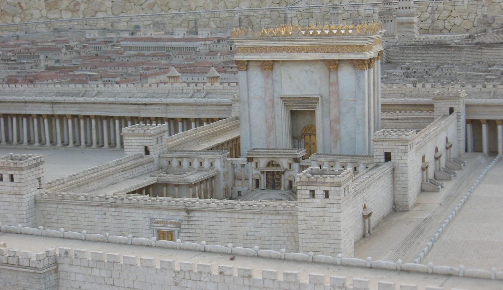 THE MENORAH NEWS.: The Temple of Solomon in Jerusalem.