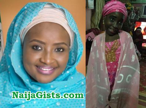 zainab bagudu adopts mad woman daughter