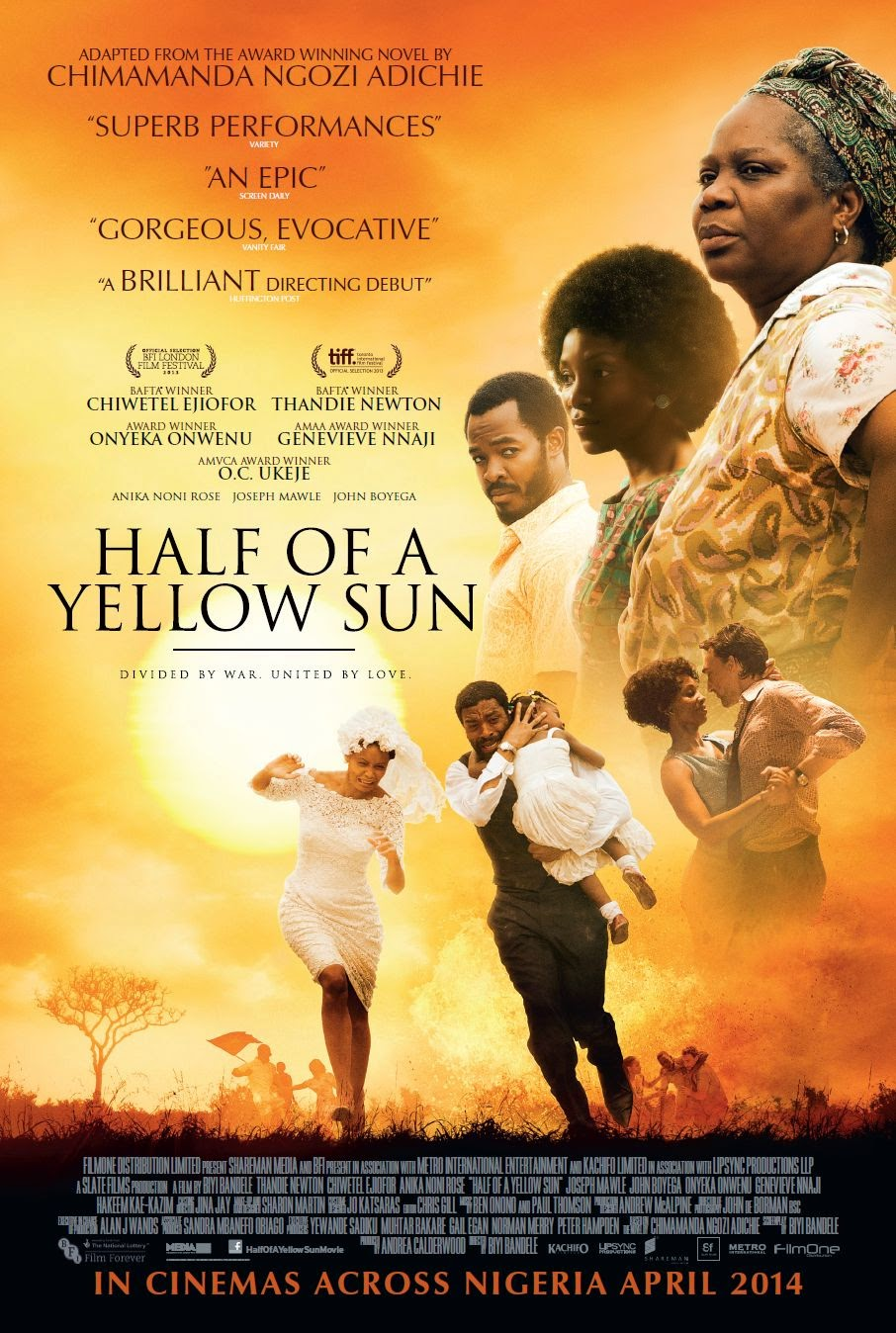 half of a yellow sun banned