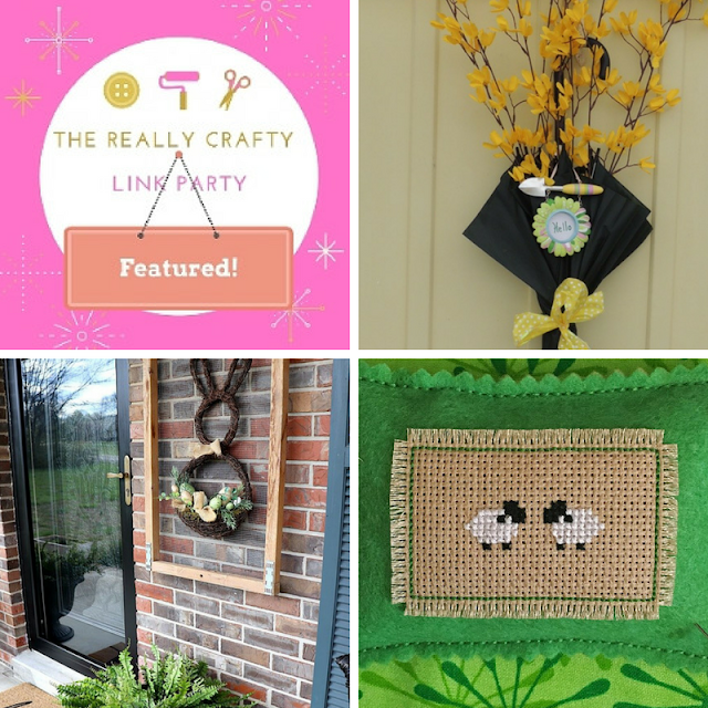 The Really Crafty Link Party #113 featured posts