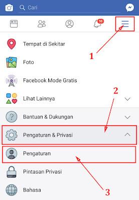 Cara Mengubah Nama di Facebook di HP Lewat Aplikasi 3