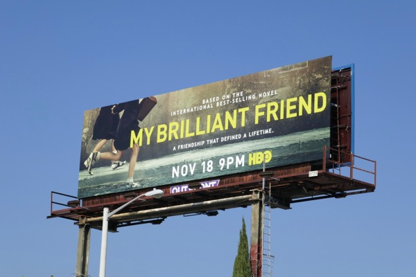 My Brilliant Friend limited series billboard