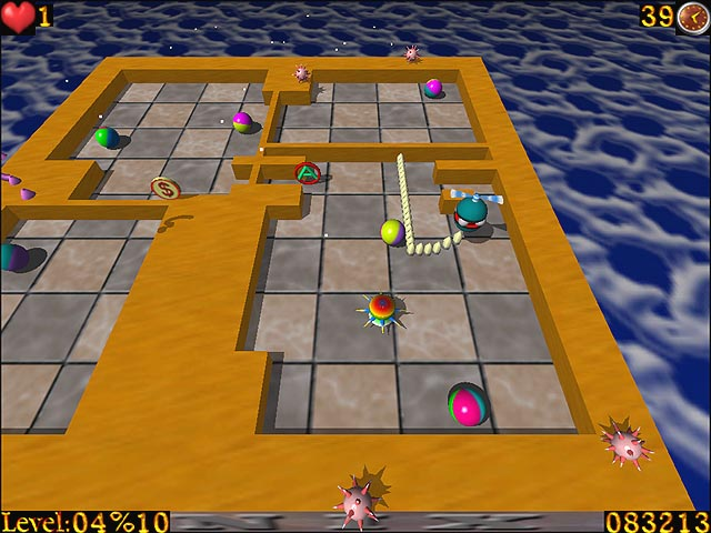 تنزيل لعبة AirXonix المميزة بتصميم ثلاثي الأبعاد خرافية