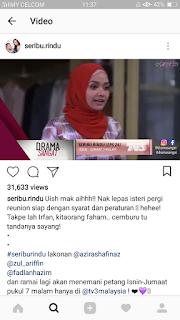 Seribu rindu akasia terbaru tv3