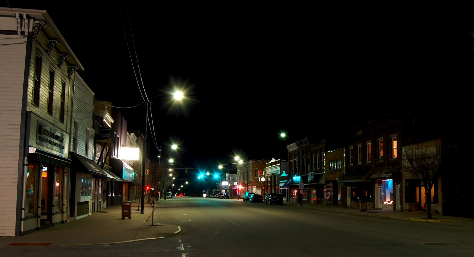 Car City South Bend >> Keith Board Photography: Bremen, Indiana at Night
