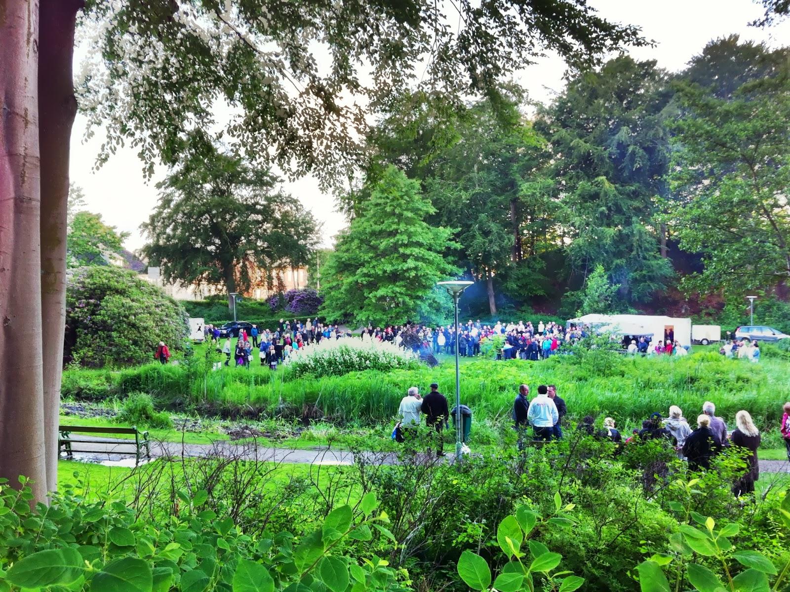 Holstebro Foto Blog: Sankt Hans aften i Anlægget, Holstebro Park, Holstebro