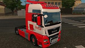 Coca-Cola MAN Euro 6