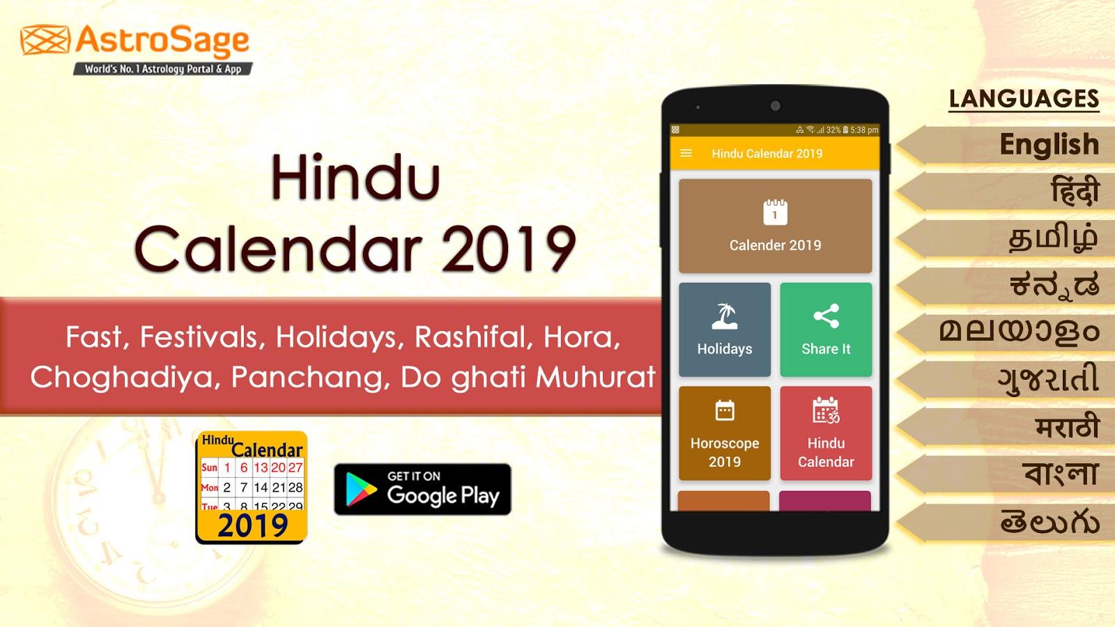Choghadiya weekly 2019