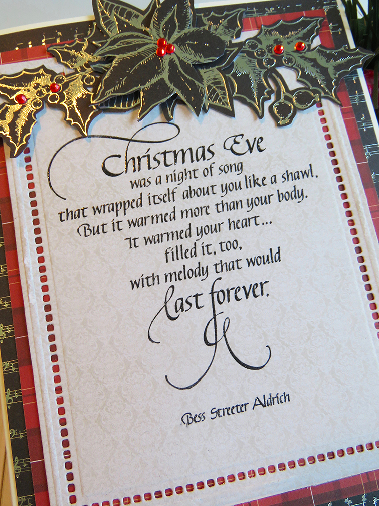 Quietfire Creations: Christmas Eve was a night of song