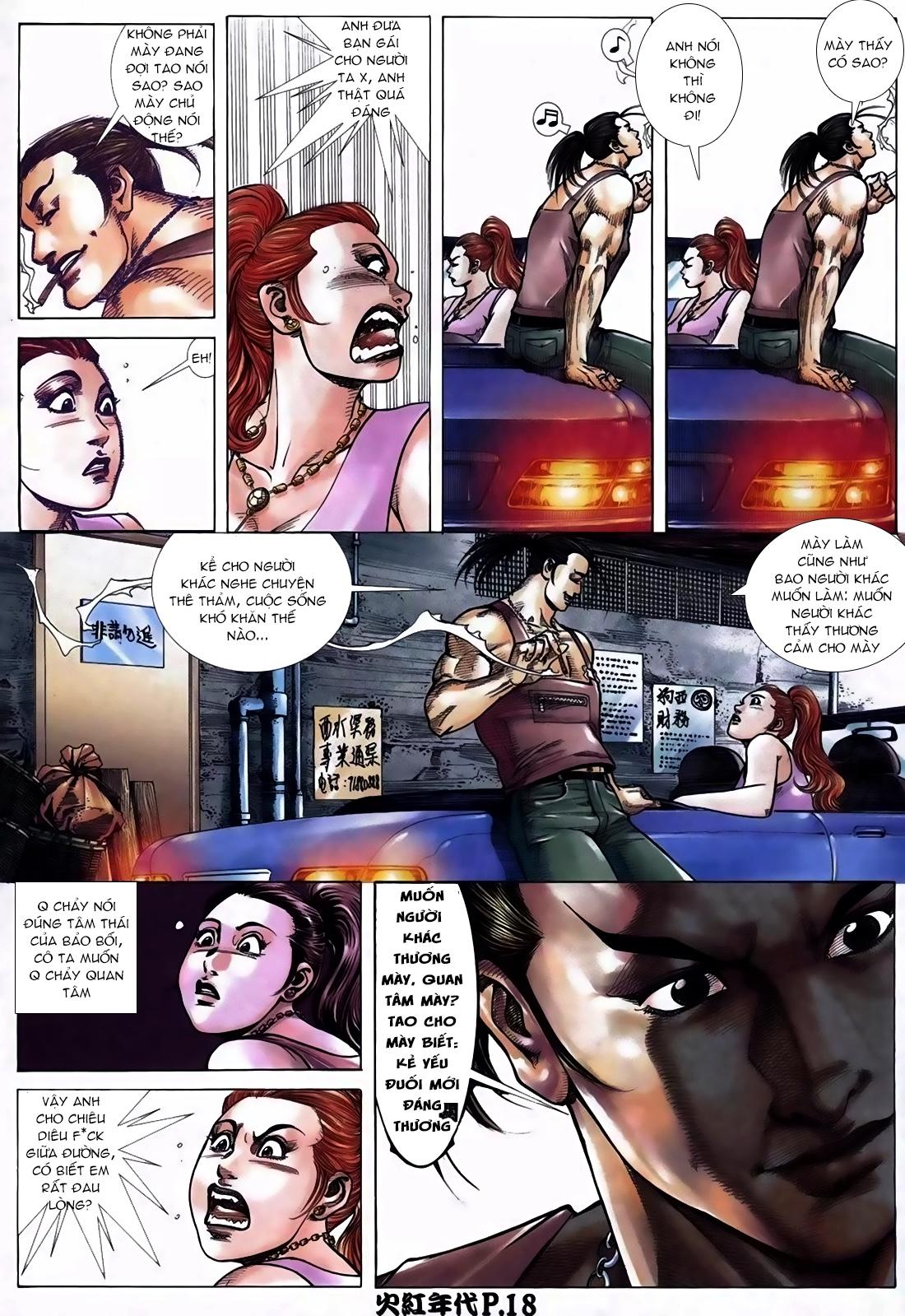Hỏa Hồng Niên Đại Hắc Cốt Đường Chap 113 - Trang 14